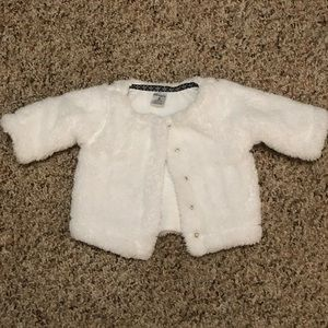 Carter's 3 Months White Cardigan